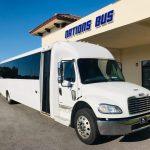 Freightliner M2 36 passenger charter shuttle coach bus for sale - Diesel 1
