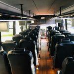 Freightliner M2 36 passenger charter shuttle coach bus for sale - Diesel 6