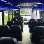 Ford F550 27 passenger charter shuttle coach bus for sale - Diesel 7