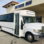 International UC 29 passenger charter shuttle coach bus for sale - Diesel 1