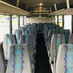 International UC 29 passenger charter shuttle coach bus for sale - Diesel 6