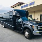 Ford F550 27 passenger charter shuttle coach bus for sale - Diesel 1