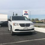 Dodge Caravan 4 passenger charter shuttle coach bus for sale - Gas 2