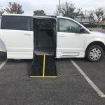 Dodge Caravan 4 passenger charter shuttle coach bus for sale - Gas 1