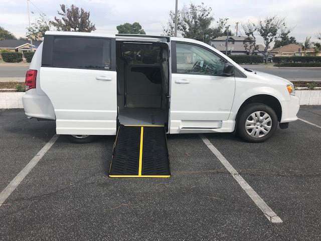 Dodge Caravan 4 passenger charter shuttle coach bus for sale - Gas