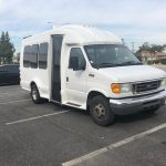 Ford E350  6 passenger charter shuttle coach bus for sale - Gas 2