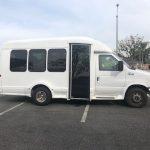 Ford E350  6 passenger charter shuttle coach bus for sale - Gas 3