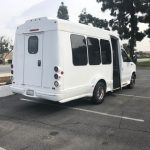 Ford E350  6 passenger charter shuttle coach bus for sale - Gas 4