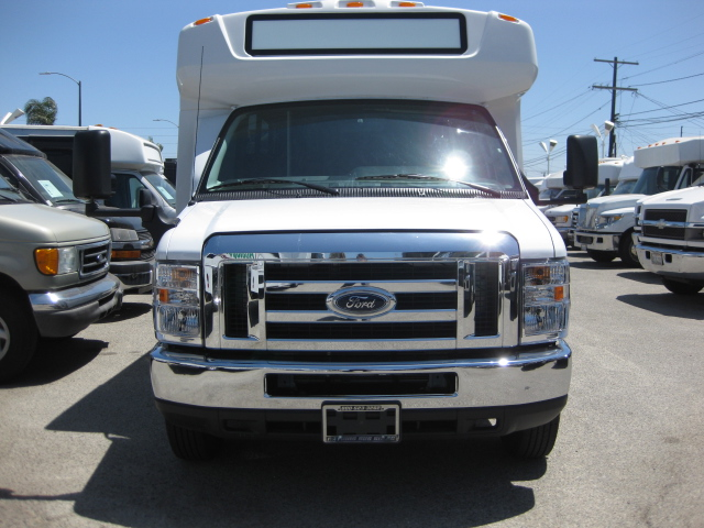 Ford E450 25 passenger charter shuttle coach bus for sale - Gas