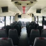 GMC C5500 32 passenger charter shuttle coach bus for sale - Diesel 10