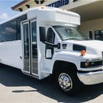 GMC C5500 32 passenger charter shuttle coach bus for sale - Diesel 1