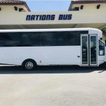 GMC C5500 32 passenger charter shuttle coach bus for sale - Diesel 2
