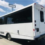 GMC C5500 32 passenger charter shuttle coach bus for sale - Diesel 5