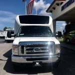 Ford E450 23 passenger charter shuttle coach bus for sale - Gas 3