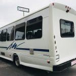 Chevy C5500 33 passenger charter shuttle coach bus for sale - Diesel 5
