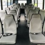 Chevy C5500 33 passenger charter shuttle coach bus for sale - Diesel 9