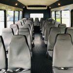 Chevy C5500 33 passenger charter shuttle coach bus for sale - Diesel 10