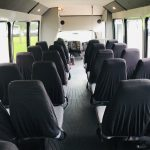 Chevy C5500 33 passenger charter shuttle coach bus for sale - Diesel 11
