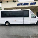 Ford E450 23 passenger charter shuttle coach bus for sale - Gas 2