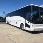 Vanhool 57 passenger charter shuttle coach bus for sale - Diesel 1
