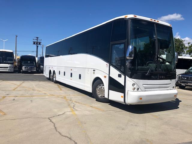 Vanhool 57 passenger charter shuttle coach bus for sale - Diesel