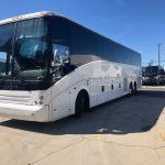 Vanhool 57 passenger charter shuttle coach bus for sale - Diesel 5