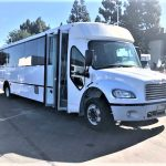 Freightliner M2 37 passenger charter shuttle coach bus for sale - Diesel 2