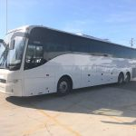 Volvo 56 passenger charter shuttle coach bus for sale - Diesel 1