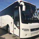 Volvo 56 passenger charter shuttle coach bus for sale - Diesel 3