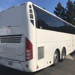 Volvo 56 passenger charter shuttle coach bus for sale - Diesel 4