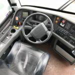 Volvo 56 passenger charter shuttle coach bus for sale - Diesel 8