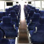 Volvo 56 passenger charter shuttle coach bus for sale - Diesel 7