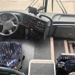 Vanhool 57 passenger charter shuttle coach bus for sale - Diesel 3