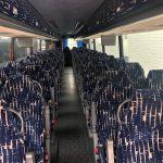 Vanhool 57 passenger charter shuttle coach bus for sale - Diesel 4