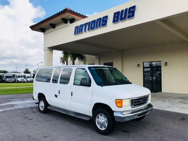 Ford 350  11 passenger charter shuttle coach bus for sale - Gas