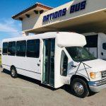 Ford E450 24 passenger charter shuttle coach bus for sale - Diesel 1