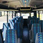 Ford E450 24 passenger charter shuttle coach bus for sale - Diesel 6