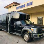 Ford F550 30 passenger charter shuttle coach bus for sale - Diesel 1