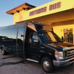 Ford E-450 15 passenger charter shuttle coach bus for sale - Gas 1
