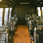 Ford E-450 15 passenger charter shuttle coach bus for sale - Gas 6