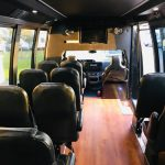 Ford E-450 15 passenger charter shuttle coach bus for sale - Gas 7