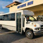 Chevy C5500 32 passenger charter shuttle coach bus for sale - Diesel 1