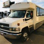Chevy C5500 32 passenger charter shuttle coach bus for sale - Diesel 3