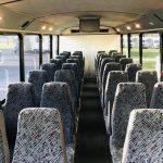Chevy C5500 32 passenger charter shuttle coach bus for sale - Diesel 6