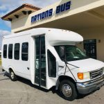 Ford E350 17 passenger charter shuttle coach bus for sale - Gas 1