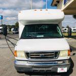 Ford E350 17 passenger charter shuttle coach bus for sale - Gas 8