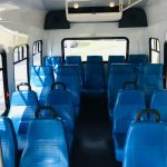 Ford E350 17 passenger charter shuttle coach bus for sale - Gas 9
