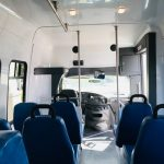 Ford E350 17 passenger charter shuttle coach bus for sale - Gas 10
