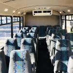 Ford E450 25 passenger charter shuttle coach bus for sale - Gas 6