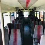 GMC C5500 32 passenger charter shuttle coach bus for sale - Diesel 9